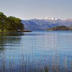 Il lago d'Orta da Gozzano