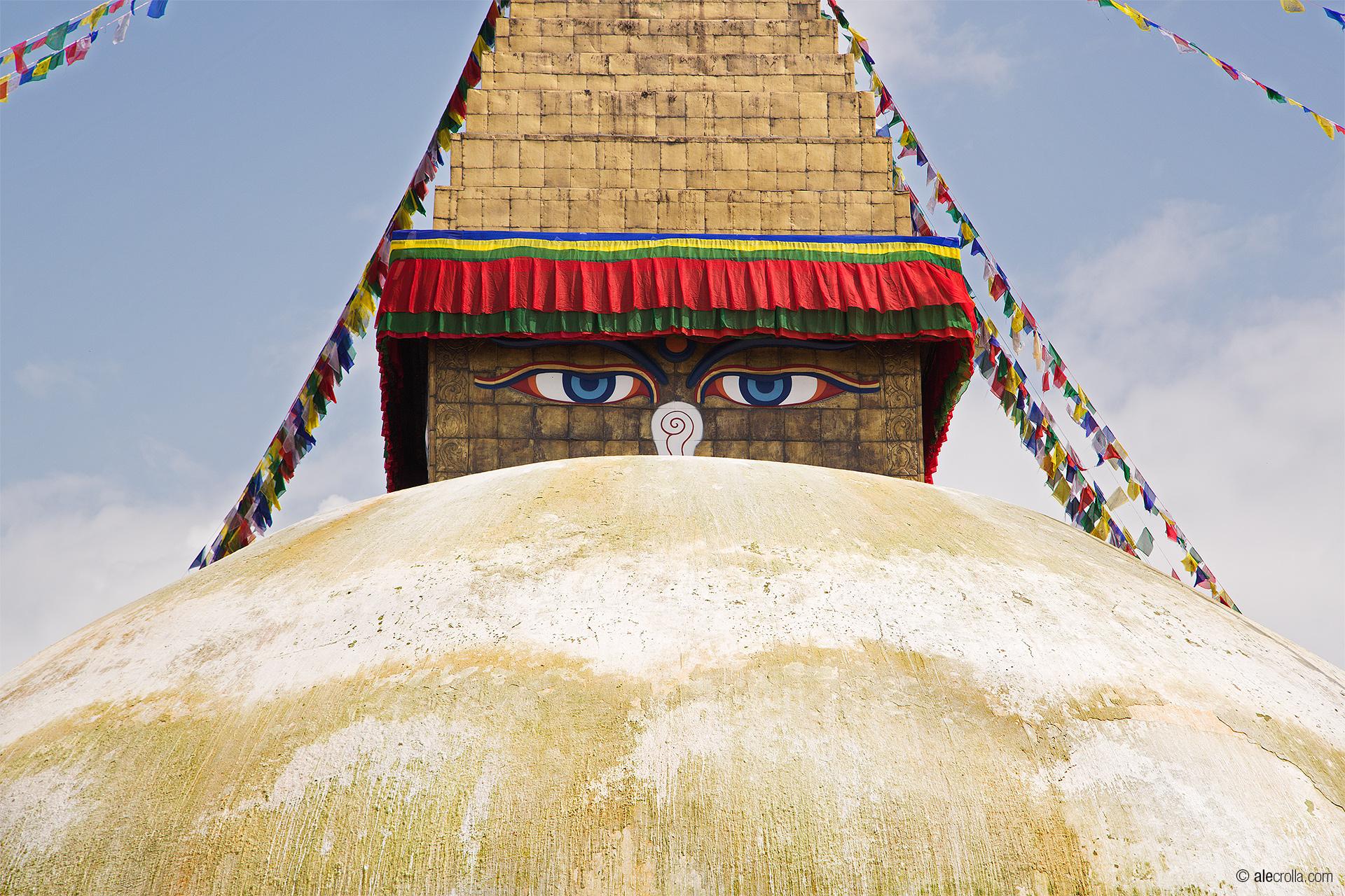 lo stupa di Bouddhanath