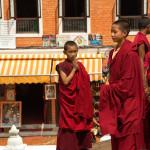 giovani monaci di Bouddhanath