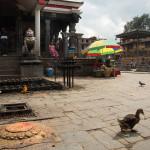 Bungamati: la piazza