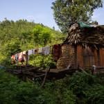 Abitazione lungo la strada da Pokhara verso Bandipur