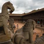 Bhaktapur: piazza