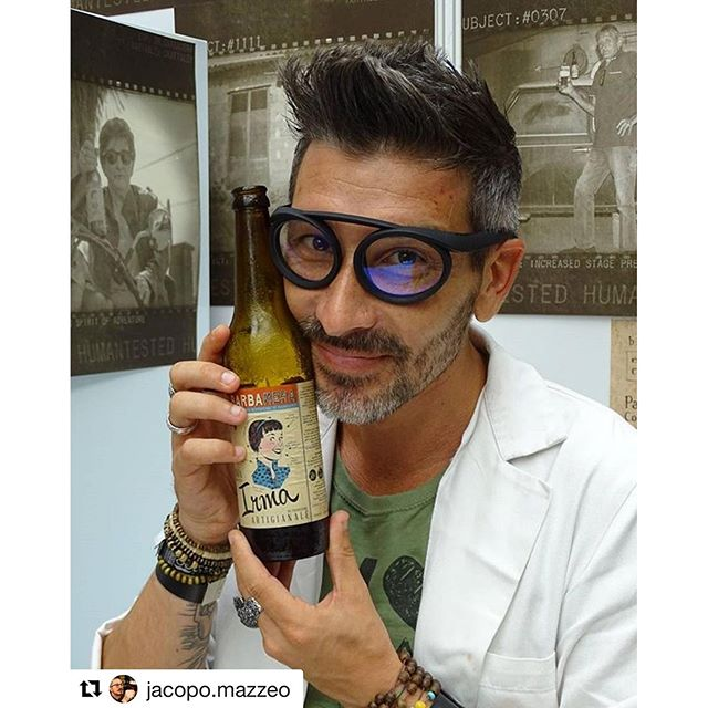 @jacopo.mazzeo ・・・ A mad brewer @bellavitaexpo @birrabarbanera